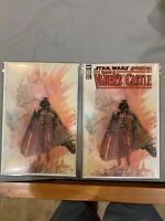 Star Wars Adventures Shadow of Vader's Castle #1 Comic David Mack Set (Virgin)