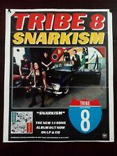 "Tribe 8 Snarkism Lp / Cd Alternative Tentacles Records Poster 11.5"" x 14"""