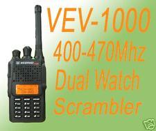 WEIERWEI V-1000 FM Transceiver UHF + Free earpiece