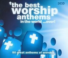 NEW The Best Worship Anthems In The World...Ever (Audio CD)
