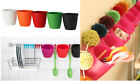 IKEA containers hang or wall mount utensil organizer pen holder plant pot BYGEL