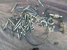 Parts lot bolts misc parts GSXR1000 02 01 suzuki Engine (race kit sprint ) #O2