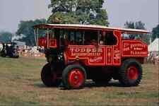 Metal Sign 468043 1929 Foden Showmans Tractor At Ashton Court Bristol A4 12X8 Al