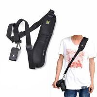 Single Shoulder Camera Hanger Sling Strap Belt for DSLR Canon Nikon Sony Pentax