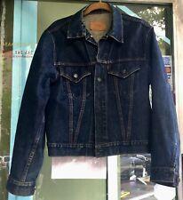 New listing Vintage 1960's Levis Men's Denim Jacket Big E Type Iii 2-Pocket 70505-0217