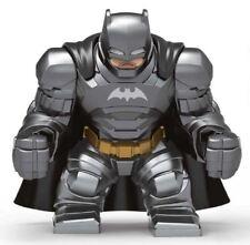 Dc Comics 11x13x4.5cm Size Superhero Armored Bathero Batman Mini Figure fit Lego