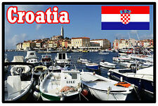 CROATIA - SOUVENIR NOVELTY FRIDGE MAGNET - SIGHTS / FLAGS - GIFTS - BRAND NEW