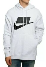 """New Nike Nsw Men's Light Heather Grey """"Not A Sample"""" Hoodie Size L Bv4540-051"""
