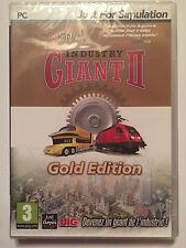 INDUSTRY GIANT 2 Gold Edition JEU PC NEUF SOUS BLISTER Jeu de Gestion