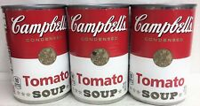 Campbell's Condensed Tomato Soup 10.75 oz 3 Cans Campbells