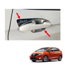 Door Handle Bowl Insert Cover Chrome 4 Pc For Honda Jazz Fit GK5 2014 - 2017