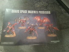 WARHAMMER 40K CHAOS SPACE MARINE POSSESSED - NEW & SEALED