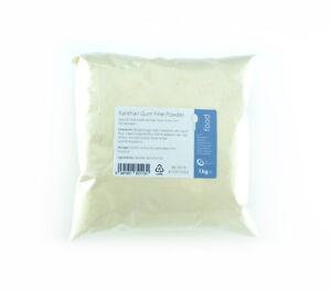 Xanthan Gum 1kg - Highest Quality Food Grade Fine Powder