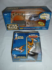 Star Wars: 2 MicroMachine items: GIAN SPEEDER & THEED PALACE & NABOO STARFIGHTER