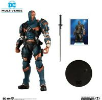 MCFARLANE TOYS BATMAN ARKHAM ORIGINS DEATHSTROKE NOVEMBER **PREORDER** EXCLUSIVE