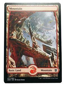 MTG. Zendikar Rising. ZNR. 277. Mountain.