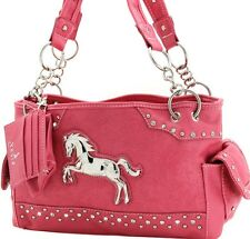 Western Pink Handbag Horse  Medallion CCW Concealed Carry *Mothers Day* NEW