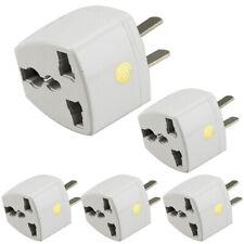 1/2/5 Pcs Universal EU UK AU to US USA AC Travel Power Plug in Adapter Converter