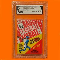 1970 Topps Baseball 10c Wax Pack | Graded GAI 8.5 | Rare