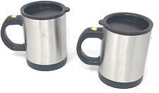 Set 2 Tazza Automescolante Gadget Elettrica Termica Automatica Bicchiere Caffè C