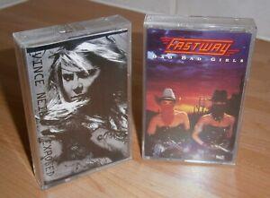 TWO 1990s Rock Cassette Tapes - FASTWAY & VINCE NEIL / Motley Crue MOTORHEAD UFO