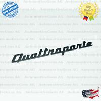 2014-18 Maserati Quattroporte Ghibli Levant Rear Lid Badge Emblem Black 1 PCS