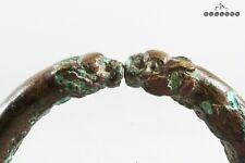 Roman Bronze Rabbit Fertility Bangle / Bracelet 1st - 4th Century