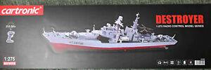 "Cartronic RC Modellschiff ""Destroyer""  M 1:275"
