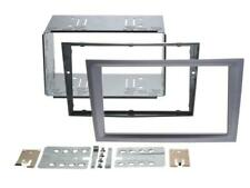 VAUXHALL OMEGA B, VECTRA C; Car Radio Panel Double Din Cover / 2-DIN Anthracite
