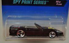 Hot Wheels Spy Print Series 4 Custom Corvette Car 16929 556 3SP New