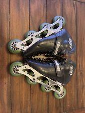 VINTAGE Riedell 201 TS Inline Speed Skates Roller Blades Hyper Formula Sz 7.5