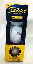Titleist Nxt Tour Golf Balls- set of 3- New in Box