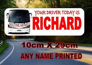 Coach & Bus Drivers Sign,  Coach Sign, Coach Drivers Sign, Bus Drivers Sign