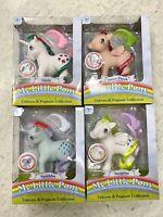 My Little Pony MLP 35th Anniversary unicorn Pegasus collection Ponies Set 4 New