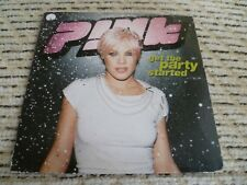 "Pink ""Get The Party Started"" Europe CD Single (2001) Ft. Redman"