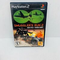 SMUGGLER'S RUN HOSTILE TERRITORY Playstation 2 PS2 console game COMPLETE