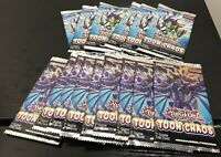 YuGiOh 15x Toon Chaos Booster Packs 1st Ed Factory Sealed English Fast Shipping