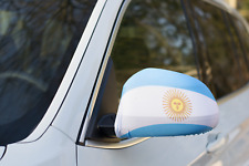 ARGENTINA CAR MIRROR FLAG COVERS 2018 WORLD CUP SHIPS FROM CANADA