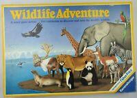 Wildlife Adventure | Vintage Board Game |  Ravensburger 1980s