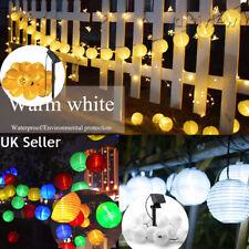 Lantern Ball Solar String Light – 10 LED Garden Fairy Outdoor Garland Light 1.5M