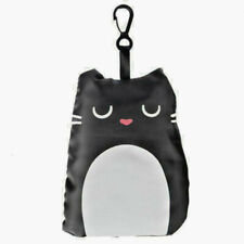 Foldaway Reusable Shopping Bag with Pouch - Cat Design - BNWT