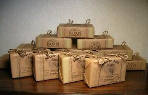 Handmade Soap Choose Your Scent Natural Homemade Bath Bar Lavender and more