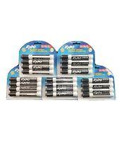 Expo Dry Erase Marker Chisel Tip 4pk Black 83661 Lot Of 5