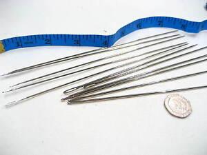 """3pc 7"""" extra large extra long metal Needles upholstery leather hard work needle"""