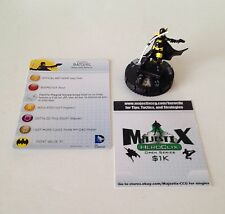 Heroclix Batman set Batgirl (Stephanie Brown) #016 Common figure w/card!