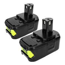 2Pack For Ryobi ONE+ P108 18V 6.0Ah Lithium Ion Battery P122 P105 P103 P102 P107