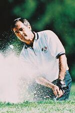 Seve Ballesteros playing bunker shot Spanish golf legend 11x17 Mini Poster
