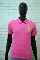 Polo Maglia Uomo RALPH LAUREN Taglia M Maglietta Manica Corta Shirt Man Regular