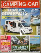 Camping Car N° 269 2014 Compacts Fiat ou Ford Equipement Abris et housses Auto
