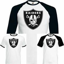 OAKLAND RAIDERS T-SHIRT Mens American Football NFL Jersey USA Super Bowl UNISEX